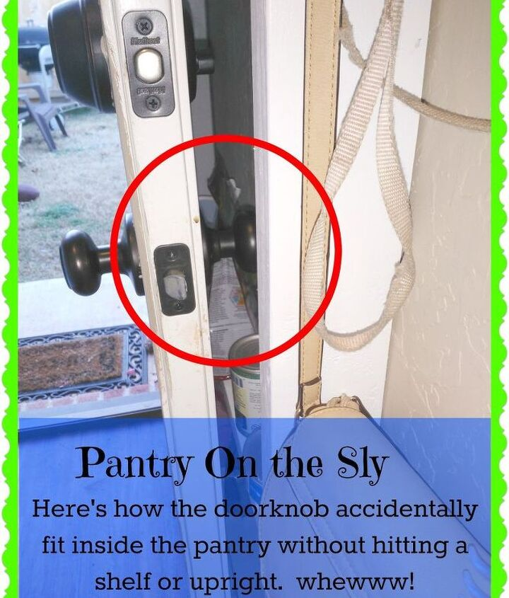 pantry on the sly, closet, diy, organizing, storage ideas