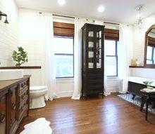 diy master suite renovation bathroom reveal, bathroom ideas, diy, home decor