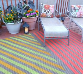 13 Expensive Looking Outdoor Rug Ideas That Cost Less Than $20 | Hometalk