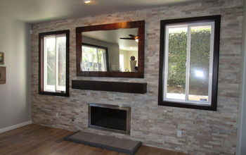 Fireplace Makeover - From Frumpy to FANTASTIC!