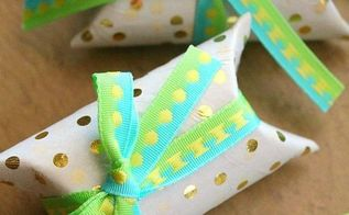 mini gift boxes out of toilet paper rolls, crafts, repurposing upcycling