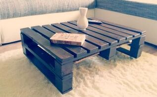 pallet coffee table video, diy, how to, painted furniture, pallet, woodworking projects
