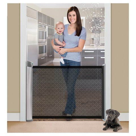 q use a window roller shade for a pet gate, pets, pets animals, repurpose household items, repurposing upcycling, windows, This model sells for 89 99 Seems much more efficient to spend 20 or less on a window roller shade and just use that