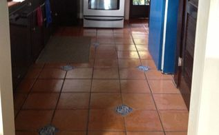 update your old sautillo tile floor, flooring, home maintenance repairs, tile flooring, tiling
