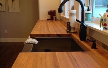 Woodn't You Like To Know--My Take on Butcherblock Countertops