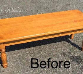A Little Black Stain Wood Grain, Painted Furniture