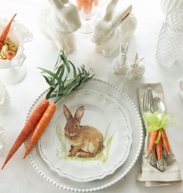 Diy Easter Decorating Ideas: DIY Easter Décor & Napkin Rings