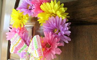 5 spring wreath, crafts, seasonal holiday decor, wreaths