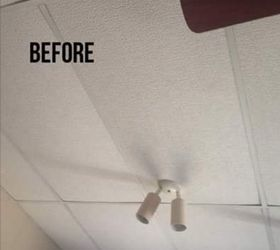 Updating a drop ceiling