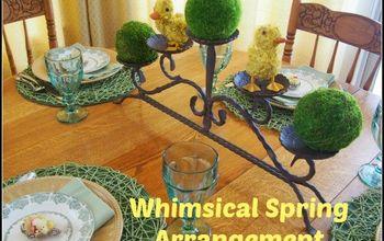 Whimsical Spring Arrangements
