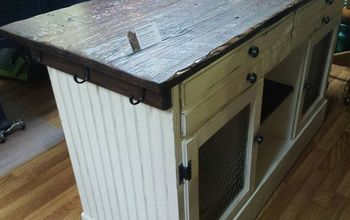 This Buffet Will Be Turned Into  A GORGEOUS  Barnwood Top Kitchen Isla