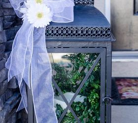 Decorate An Outdoor Lantern For Spring With These Easy Decor Ideas, Crafts,  Outdoor Living