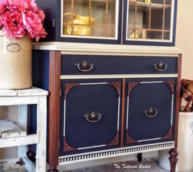 Old China Cabinet Makeover, Painted Furniture