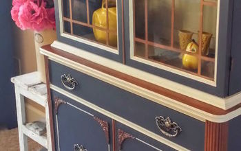 Old China Cabinet Makeover