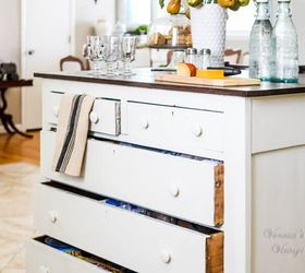 need more kitchen storage turn a dresser into an island kitchen design kitchen island
