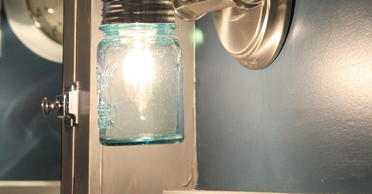 Diy Ball Jar Sconce Light Hometalk