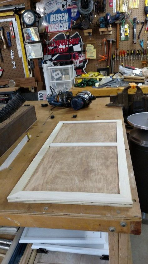 Repurposed Kitchen Cabinet Door Covers Ugly Fuse Box Hometalk
