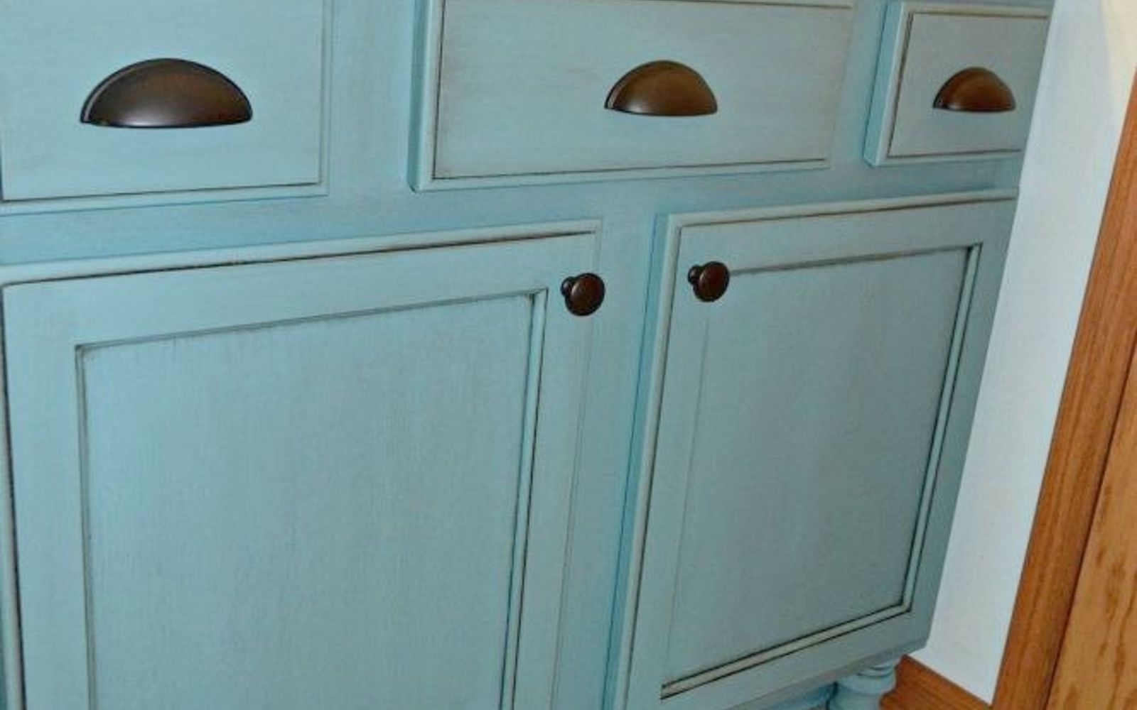 Redo Bathroom Cabinets Amusing 11 Lowcost Ways To Replace Or Redo A Hideous Bathroom Vanity . Design Ideas