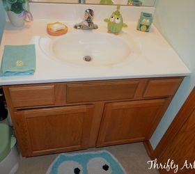 Genial 11 Low Cost Ways To Replace (or Redo) A Hideous Bathroom Vanity | Hometalk