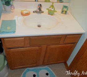 11 Low Cost Ways To Replace (or Redo) A Hideous Bathroom Vanity | Hometalk
