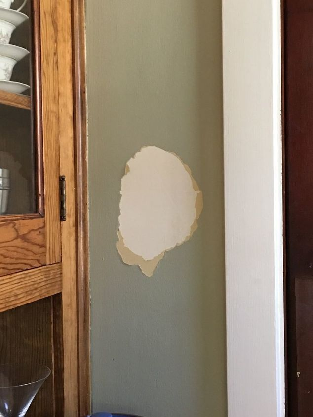 Paint peeling fix on a budget, what would you do? | Hometalk
