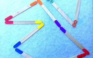 diy popsicle stick dominoes, crafts