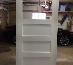 The Finishing Touch A Sliding Barn Door For The Laundry Room, Diy, Doors,