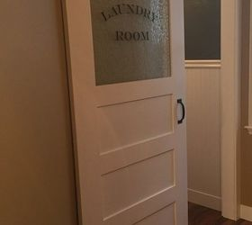 Installing A Barn Door To A Laundry Room Hometalk