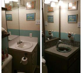 Cheap Small Bath Renovation, Bathroom Ideas, Diy, Home Improvement Deborah  Weaver