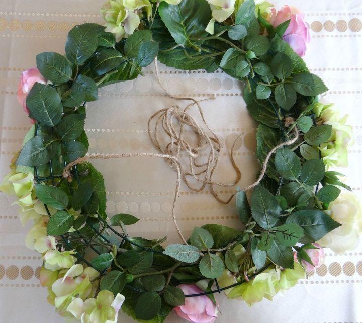 Hanging floral chandelier diy hometalk hanging floral chandelier diy crafts how to wreaths aloadofball Choice Image
