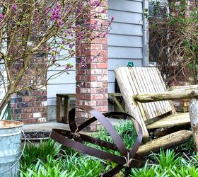 An Unexpected Upscale Garden Art Orb Thanks To A Broken Barrel, Crafts,  Outdoor Furniture