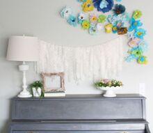 spring garland home updates diymyspring, home decor, seasonal holiday decor