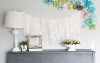 Spring Garland & Home Updates #DIYmySpring