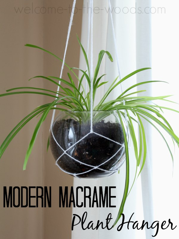 DIYMySpring Decor: Modern Macrame Plant Hanger | Hometalk