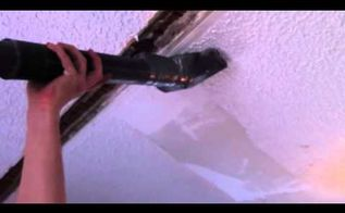 popcorn ceiling removal, home maintenance repairs, wall decor