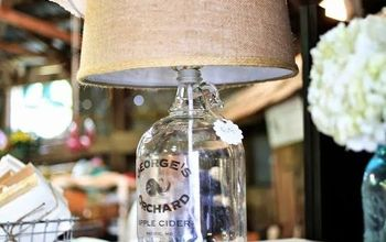 How to Make a Vintage Bottle Lamp