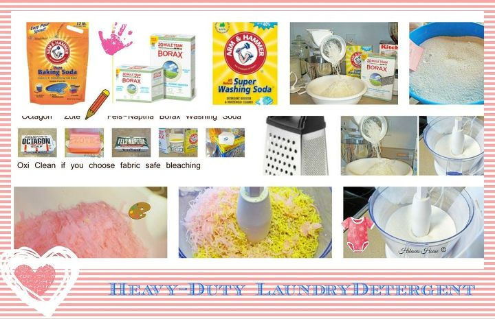 heavy duty homemade laundry detergent, cleaning tips