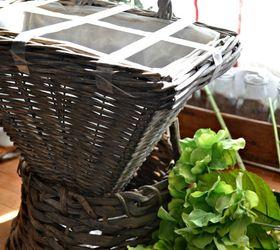 How To Make A Basket Of Blooms For Your Front Door, Container Gardening,  Doors