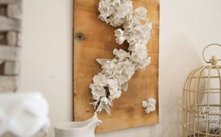 falling flowers spring sign, crafts, seasonal holiday decor, wall decor