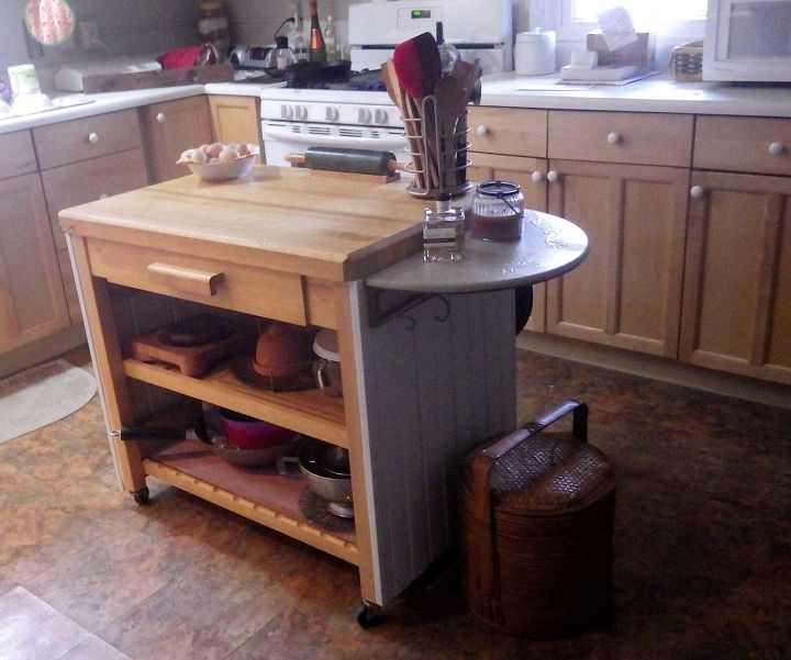 My 58 Kitchen Island Makeover Hometalk