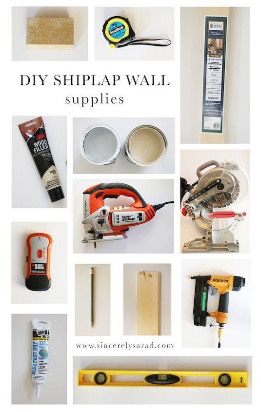 diy shiplap wall, diy, kitchen design, tools, wall decor, woodworking  projects