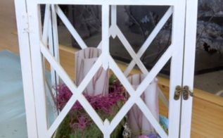 spring lantern, home decor, outdoor living