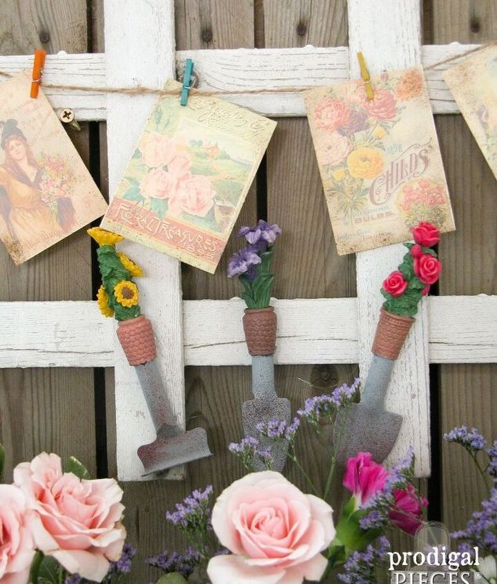 curbside picket fence becomes repurposed garden decor, diy, fences, gardening, repurposing upcycling