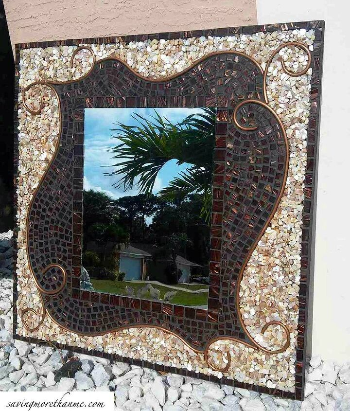 s 15 reasons to drop everything and buy inexpensive tile, tiling, Make a gorgeous mosaic mirror