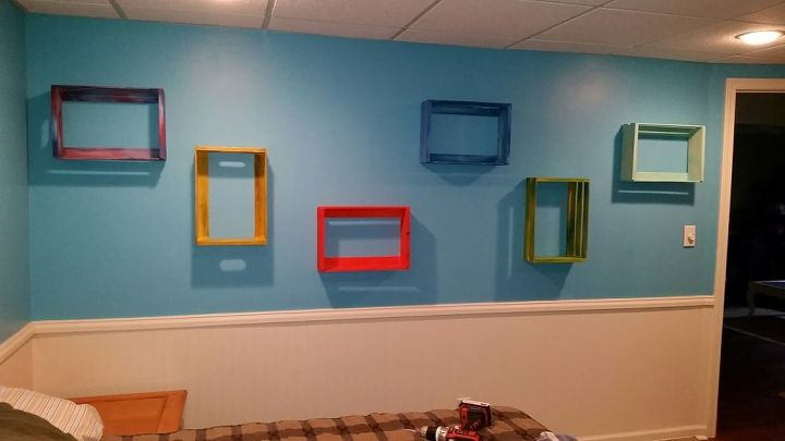 shelves with a twist, diy, shelving ideas, wall decor, woodworking projects