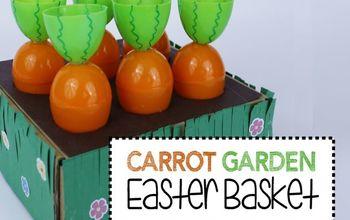 Carrot Garden Easter Basket