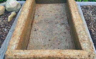 making a large hypertufa planter, concrete masonry, container gardening, diy, gardening, raised garden beds