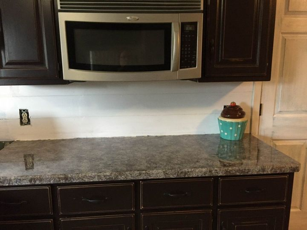 Diy Faux Granite Kitchen Countertops Hometalk