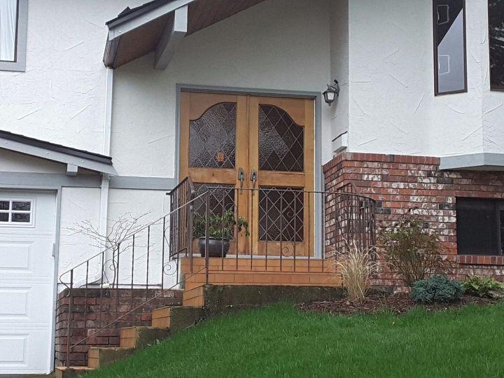 q new front door, curb appeal, doors