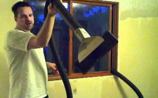 genius way to remove popcorn from ceilings, home maintenance repairs, how to, wall decor